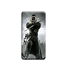 Ebby Premium Printed Back Case Cover With Full protection For Samsung Galaxy A7 (2016) (Designer Case)