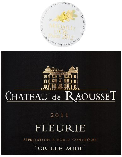 2011 Chateau De Raousset Fleurie 750 Ml