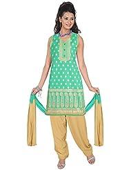 Elan Vital Women's Silk Straight Salwar Suit