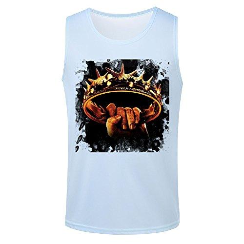 Crown Game of Thrones Men's Vest Tops M