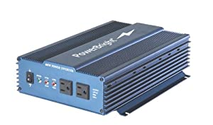 Power Bright APS600-12 Pure Sine Power Inverter 600 Watt 12 Volt DC To 110 Volt AC from Power Bright