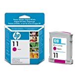 HP 11 Magenta Original Printer Ink Cartridge for HP Business Inkjet 1000 1000D 1000DT 1000DTN 1100 1100d 1100DT 1100dtn 1200 1200d 1200dn 1200dtn 1200dtwn 1200N 1200TWN 2200 2200CSE 2200se 2200TN 2200xi 2230 2250 2250SE 2250tn 2250XI 2280 2280tn 2300 230