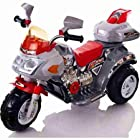 Rockin' Rollers Ruby Racer Motorcycle 3-Wheeler - Children's powered Ride-Ons - 50 watt motor - Colors include red and silver with chrome accents