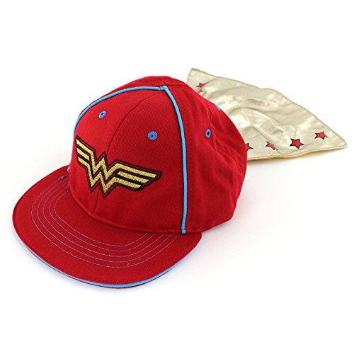 Wonder Woman Infant Toddler Caped Baseball Cap Hat