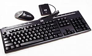 hp wireless usb keyboard and mouse combo computers accessories. Black Bedroom Furniture Sets. Home Design Ideas