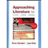 img - for Approaching Literature: Writing & Reading & Thinking book / textbook / text book