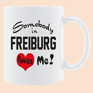 """Druck-deine-Tasse Stadttasse """" Freiburg."""""""