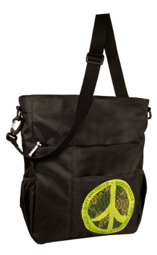 Amy Michelle World Peace Diaper Bag