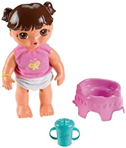 Fisher-Price Ready for Potty Baby Dora