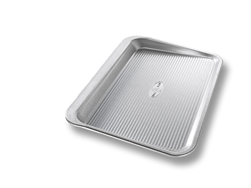USA Pan Bakeware Aluminized Steel Cookie Scoop Pan, 10 x 14 Inch, Made in the USA