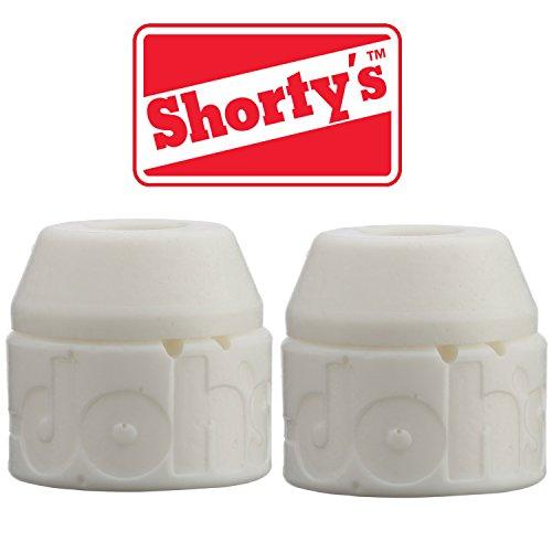 Shorty's Doh-Doh 4 pc Skateboard Trucks Bushing (White 98 Really Hard) (Bushings Skateboard compare prices)