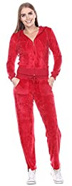Stanzino 2 Piece Ladies Womens Velour…