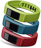 Garmin vívofit 2 Wrist Bands (Small) (Red/Blue/Green)