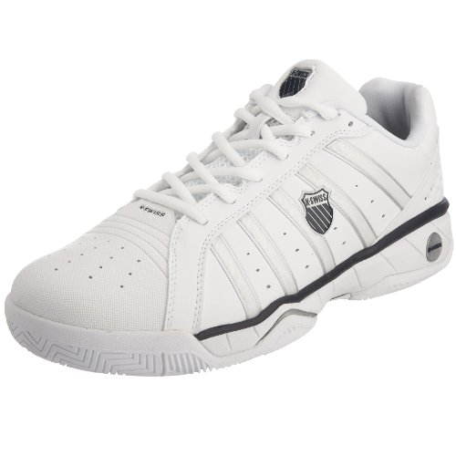 Kswiss Men's Speedster Tennis white/navy Tennis Shoe 02432-109-M 10.5 UK