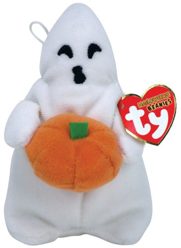 Ty Halloweenie Beanies Ghoul Boy ghost - 1