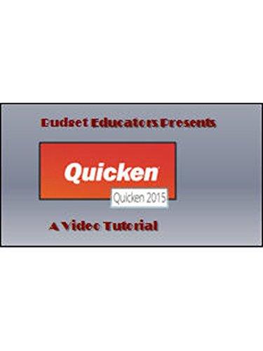 Quicken 2015 Video Tutorial- Getting Started