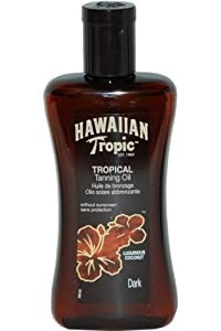 Hawaiian Tropic Deep Tanning Oil - spf0