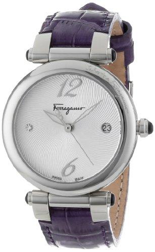 Ferragamo Women's F76SBQ9902 SB42 Ballerina Stainless Steel Watch