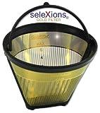 GF2S seleXions Goldfilter klein 2-6 Tassen mit antihaft Tita...