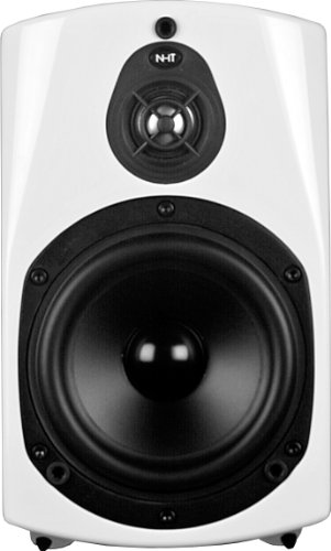 Nht Absolute Zero Bookshelf Speaker (White, Single)