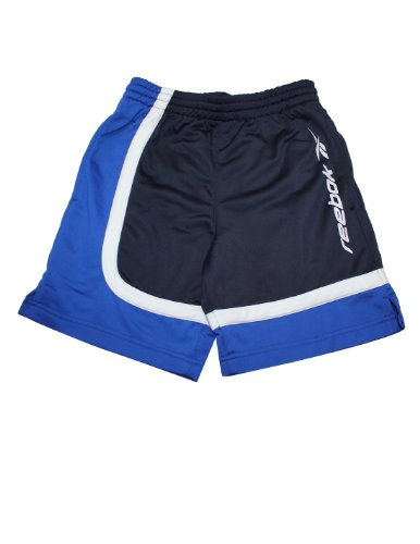 Reebok Youth High Performance Athletic Sports Shorts 12 Dark Blue front-987780