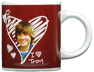High School Musical I Love Troy Mug