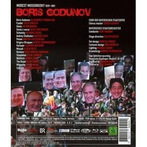 Moussorgsky / Boris Godunov (BD) [Blu-ray]