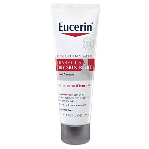 适合糖尿病患者,Eucerin 保湿护足霜 85g*3支图片