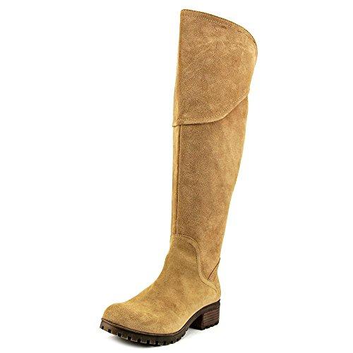 lucky-brand-harleen-wide-calf-donna-us-11-marrone-stivalo