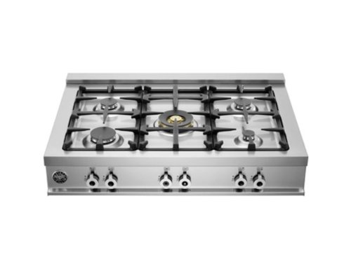 Bertazzoni Professional Cb36500X 36 Pro-Style Gas Rangetop 5 Sealed Burners