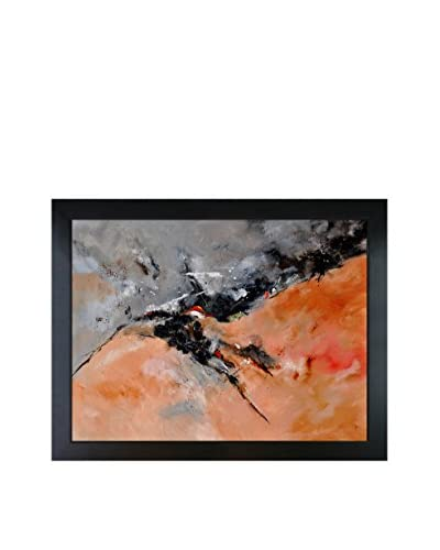 "Pol Ledent ""Abstract 1811503"" Framed Canvas Print"