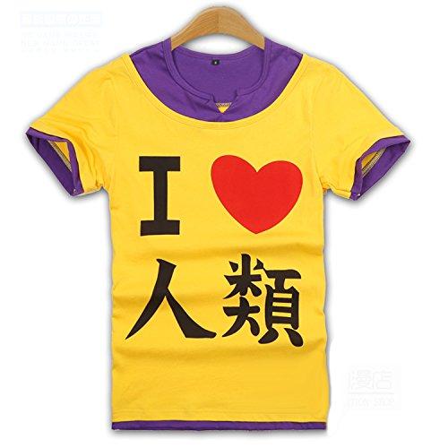 【ノーゲーム・ノーライフ 風】【空(そら)風】半袖 Tシャツ コスプレ衣装 コスチューム アニメ専線 (LLサイズ)