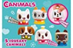Canimals Assortment - 5 Squeaky Canimals