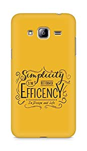 Amez Simplicity is the best form of Efficency Back Cover For Samsung Galaxy J3