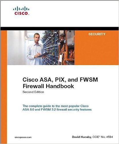 Cisco ASA, PIX, and FWSM Firewall Handbook (2nd Edition)