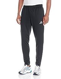 adidas Performance Men\'s Core Training Pant, Large, Dark Grey/White