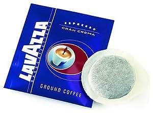 Lavazza Gran Crema Espresso Coffee, Italian Espresso, Single Pods (Pack of 30)