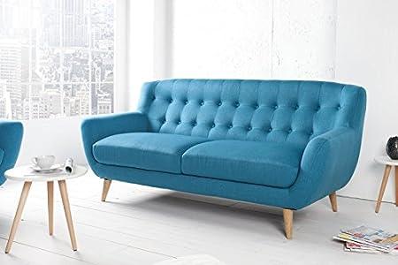 DuNord Design sofá 3 plazas azul STOCKHOLM