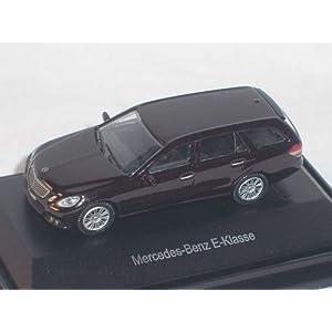 MERCEDES-BENZ E-KLASSE W212 T-MODELL BRAUN SCHWARZ HO H0 1/87 HERPA MODELLAUTO MODELL AUTO