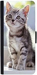 Snoogg Lover Kitty Designer Protective Phone Flip Case Cover For Desire 620G Dual Sim