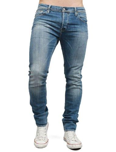 Japan Rags 750 Basic Straight Blue Man Jeans Men - W32