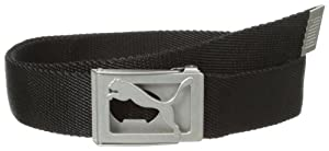 Puma Men's Fade Web Belt, One Size, Black