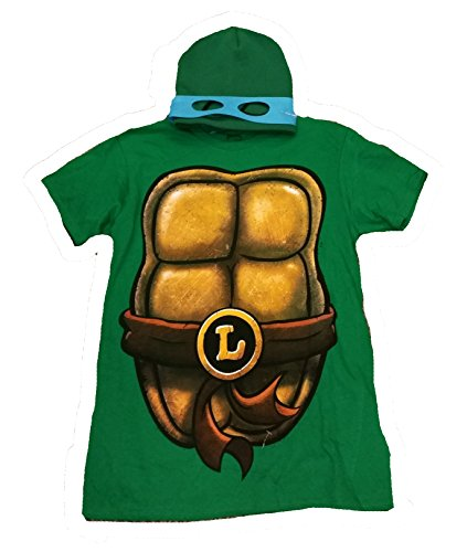 TMNT Teenage Mutant Ninja Turtle Costume Graphic T-Shirt w/ Beanie