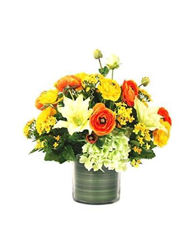 Creative Displays Yellow & Orange Floral Arrangement