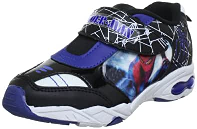 Spiderman sport SF300178, Jungen Sneaker, Mehrfarbig (bk/bk/wh/cb 071), EU 27