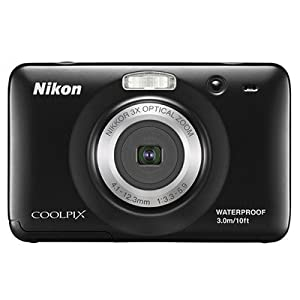 Nikon COOLPIX S30 Waterproof Digital Camera 10.1 MP HD Video Movies with 3x Zoom Nikkor Glass Lens and 2.7-inch LCD (White) - Underwater Shockproof