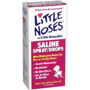 Little Noses Saline Spray/Drops 1 oz.