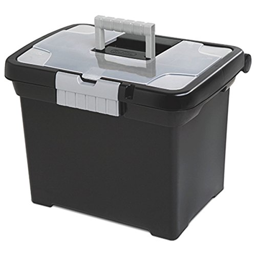 STERILITE Portable File Box (File Folder Storage Box compare prices)