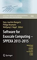 Software for Exascale Computing – SPPEXA 2013-2015 Front Cover