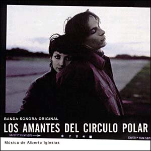 Original album cover of Lovers of the Arctic Circle (Los Amantes del Circulo Polar) by Alberto Iglesias